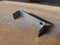 3mm paksusega painutatud detail