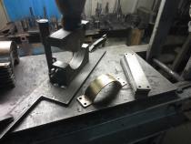 Eritellimusel valmistatud pressvorm.
