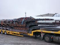 Laadungi hulka kuulusid ka eritellimusel valmistatud ettevolditavad modulaarsed rambid