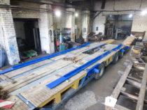 Valmisvärvitud laiendid puiduhoidja raamidega