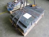 CNC plasmaga lõigatud alusplaadid