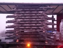 Autoveo treileri sektsioonid