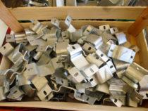 30mm nelikanttoru klambriplaadid