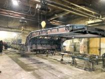 Kokku ühendatud pikendatava treileri raam