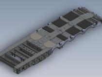 Pikendatava treileri lava 3D mudel