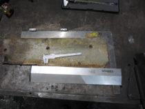 Vanade plaatide mõõtmine uute tellimiseks