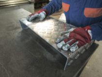 Painutatud alumiinium rihvel plaat