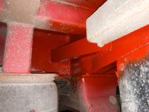 Treileri vasakpoolel tehtud analoogne remonditöö