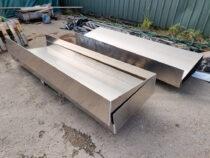 Painutatud alumiiniumlehest kastid