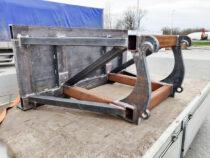 Frontaallaaduri adapter puidupaki lükkamiseks