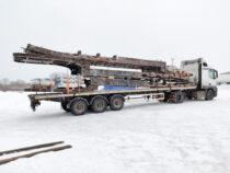 Laadung 3 treileri raami + rampidega