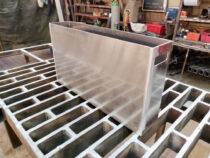Keevitatud alumiinium kast