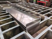 Alumiiniumist kasti kaaned